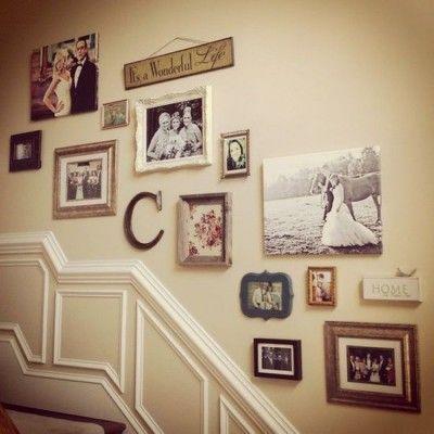 Cuadros Para Escaleras Personalizadas Deco Pinterest Escaleras - Cuadros-para-escaleras