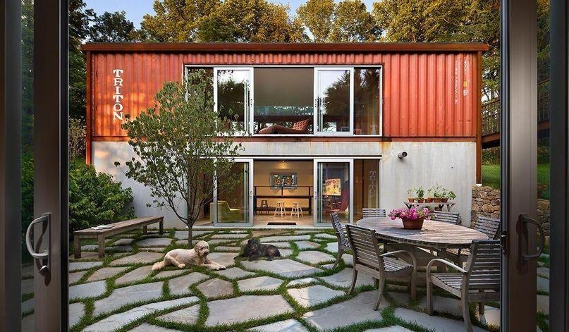 Idei Malogo Biznesa Container House Plans Container House Building A Container Home