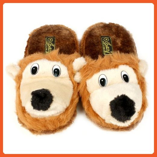 abc8e1a7d5e Saber Squirrel Animal Plush Cushion Indoor Outdoor NonSlip Grip Slippers M 7 -8 - Slippers for women ( Amazon Partner-Link)
