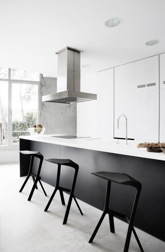 Bw Kitchen Minimal Kitchen Design Kitchen Interior Kitchen Bar