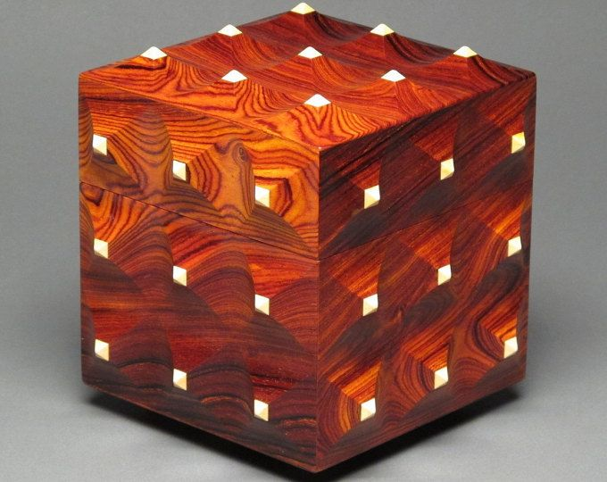 Handmade Wooden Jewelry Boxes By Eugene Watson Watswood