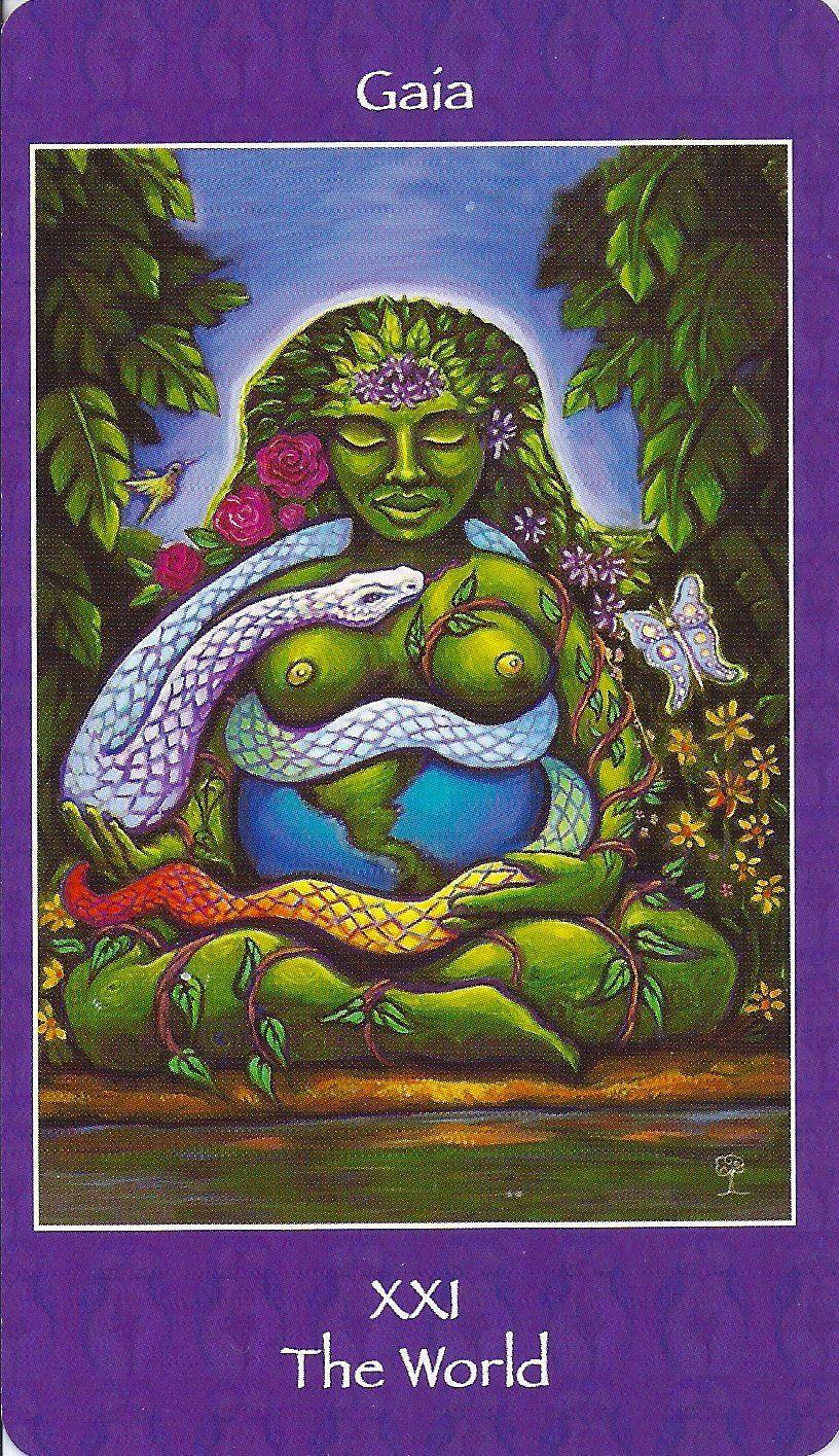 Trump 21 (World) Depicted As Greek Deity Gaia From