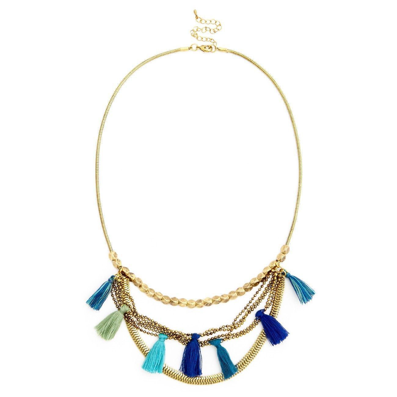 Sole Society Womens Beaded Thin Choker Necklace In Color: White Combo One Size From Sole Society w8FSGuL