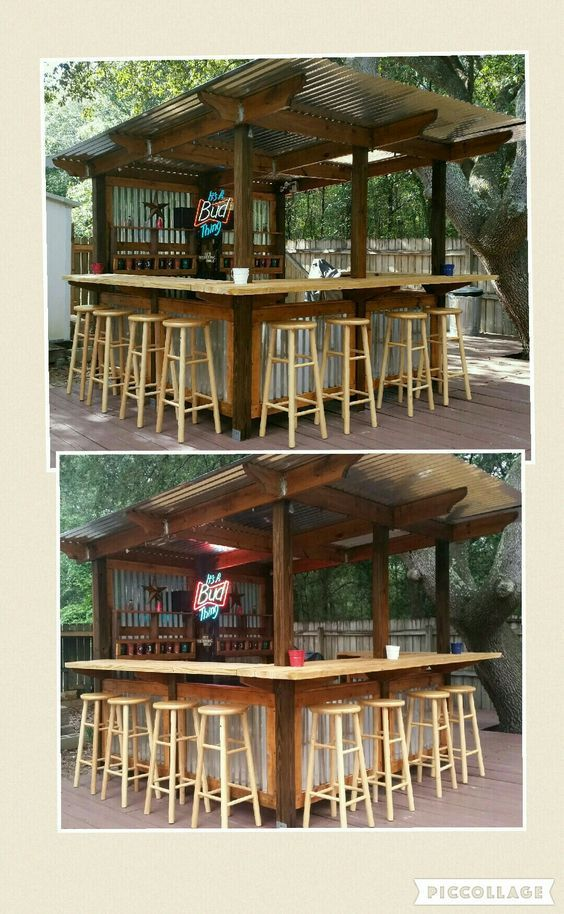Super Easy Diy Backyard Projects On A Budget Outdoor Bars