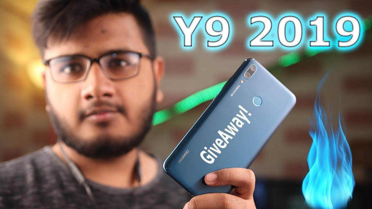 Huawei Y9 2019 Unboxing   Giveway Hogaye??   Random   Cell phone