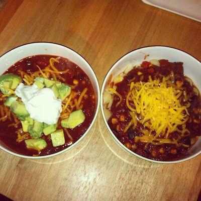 Slow Cooker Bison & Black Bean Chili