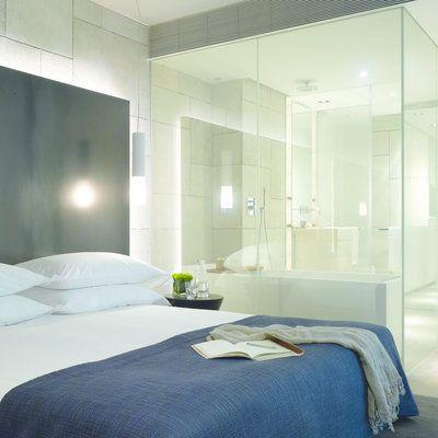 Aménager une suite parentale  une chambre avec salle de bains