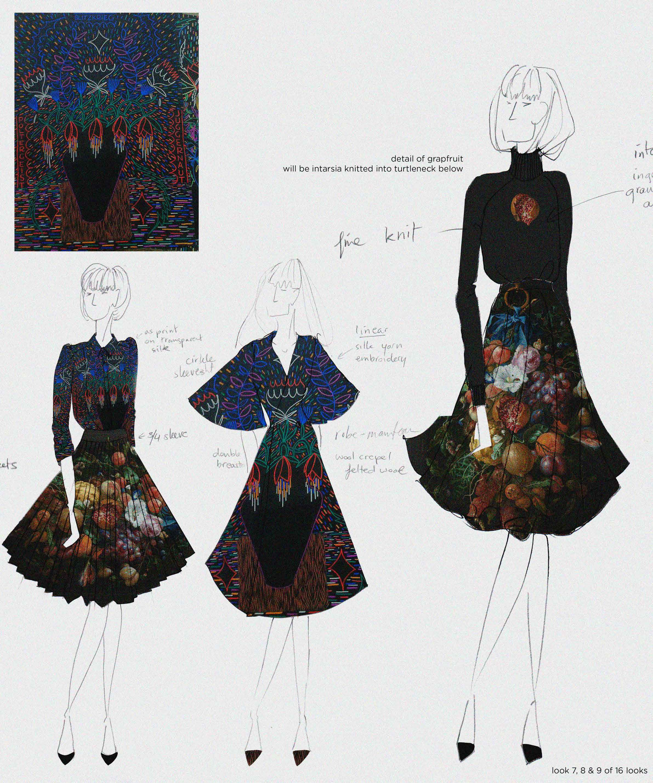 Fashion outfits 'Leven vanuit het zwart' by Mattijs van Bergen & Job Wouters. One of the 10 finalists of the Rijksstudio Awards 2015.