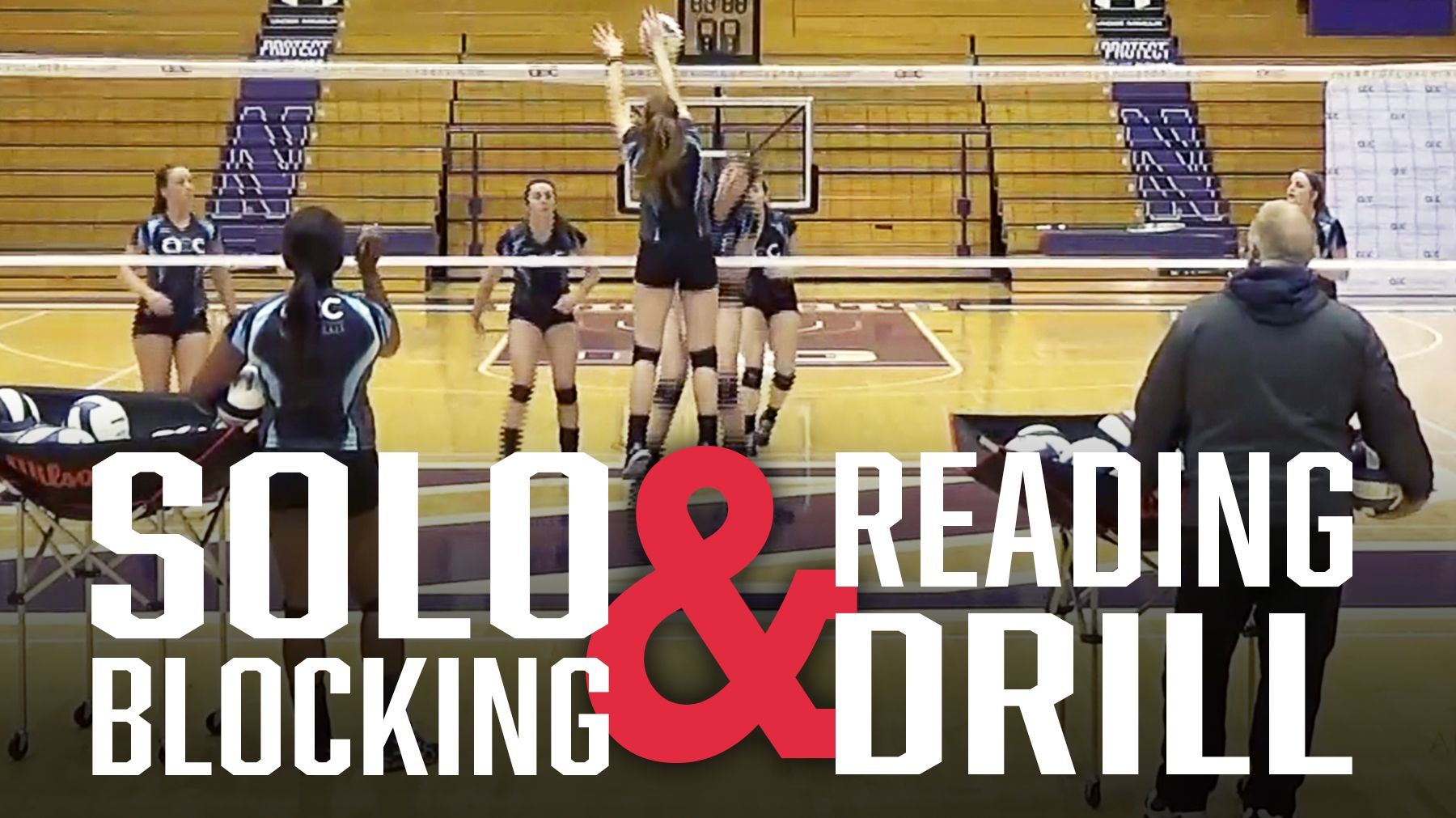 Russ Rose Solo Blocking And Reading Drill Coaching Volleyball Volleyball Practice Volleyball Skills