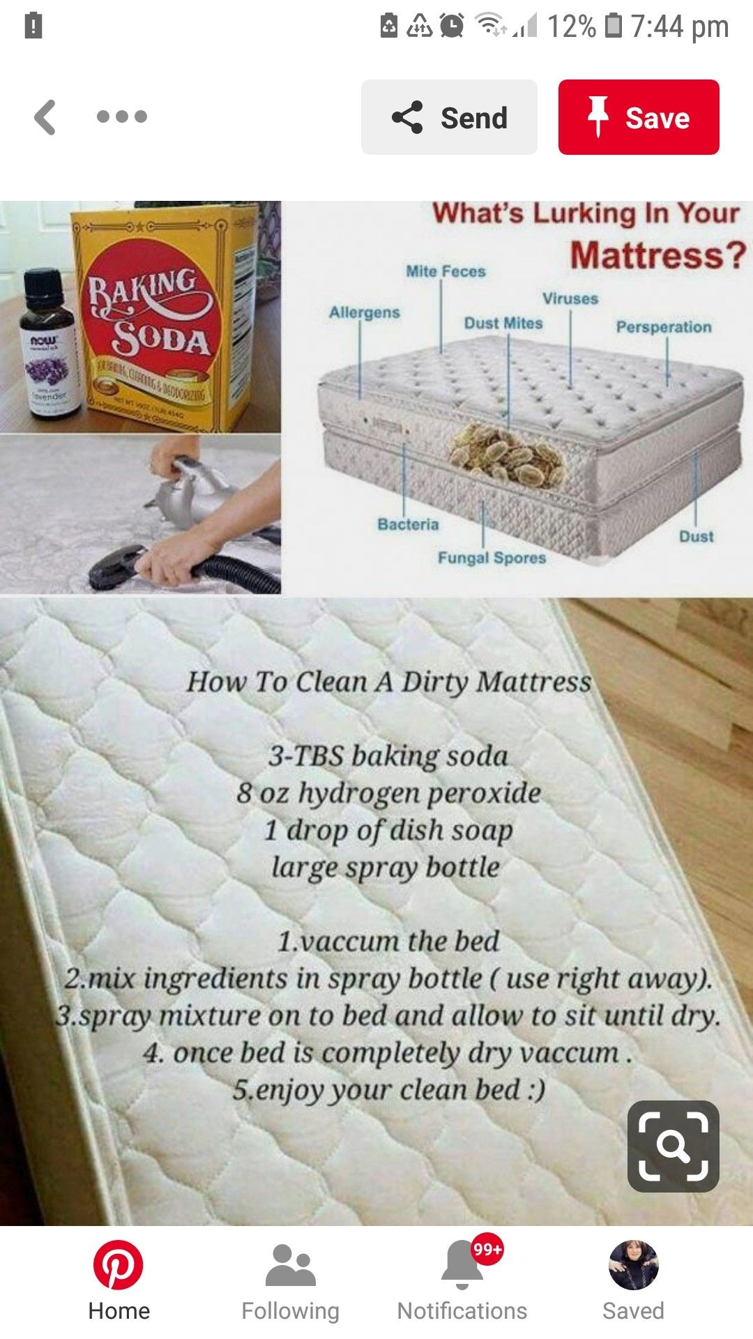 Pin by Marianne on Cleaning Mattress cleaning, Cleaning