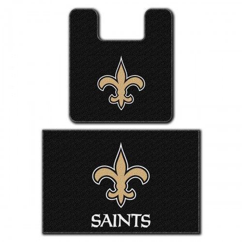 Nfl New Orleans Saints Bath Mat Set Football Bathroom Rugs New