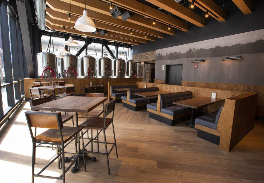Explore Crushed by Giants, Streeterville's First Brewery, Opening Friday - Eater Chicago