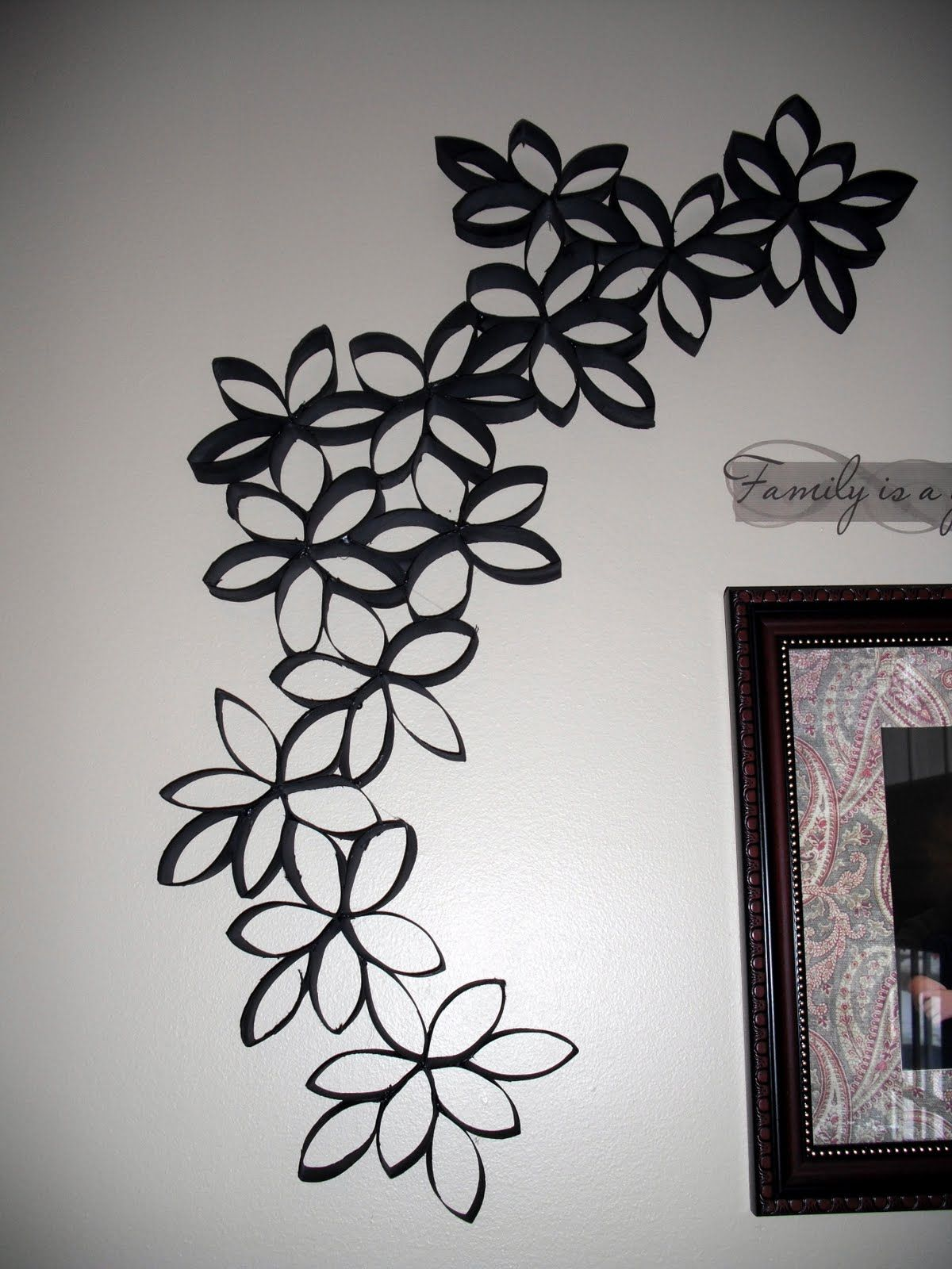 Toilet Paper Roll Wall Art | Cottrell Family: Wall decor ...