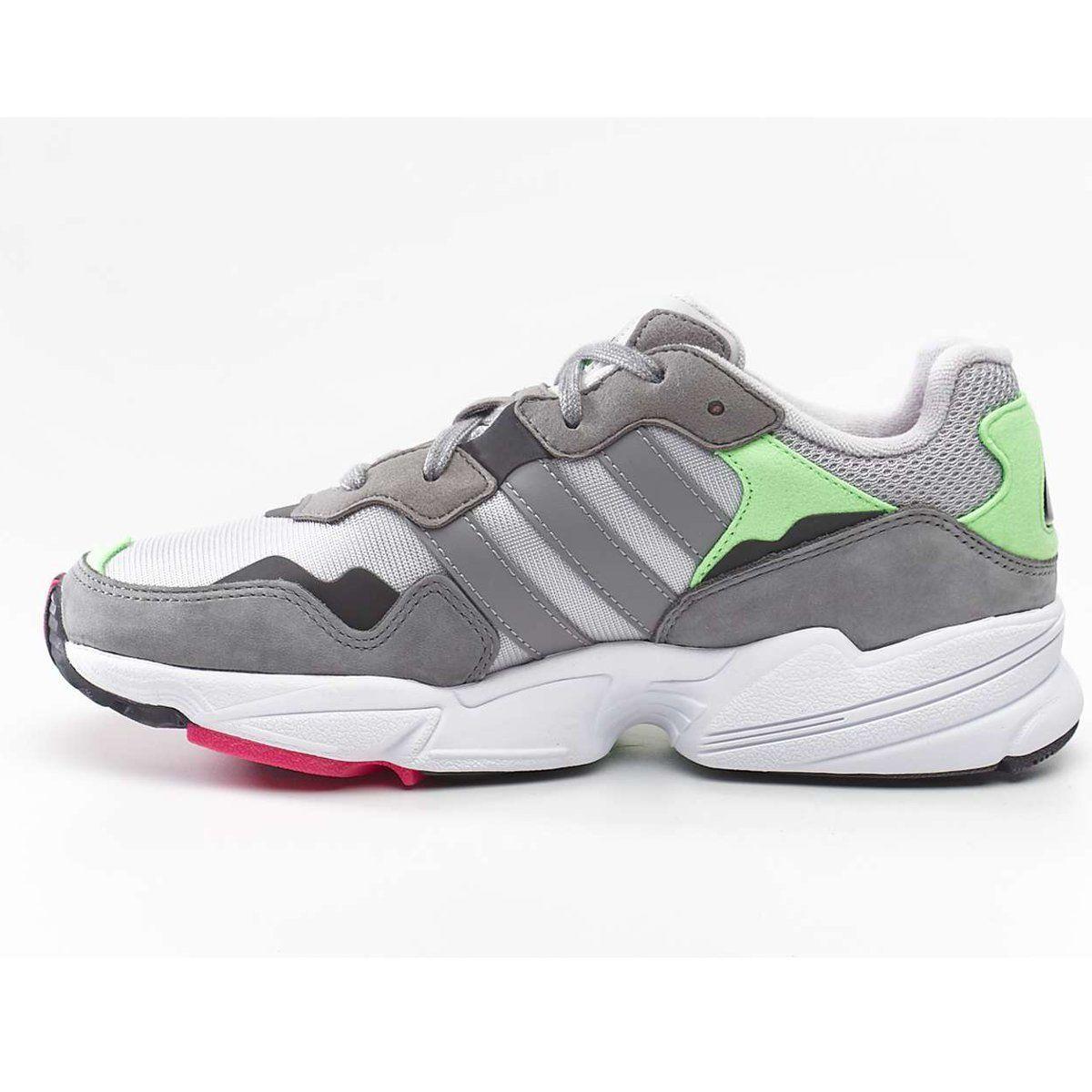 Sportowe Damskie Adidas Adidas Yung 96 Grey Two Grey Three Shock Pink Pink Adidas Adidas Sneakers