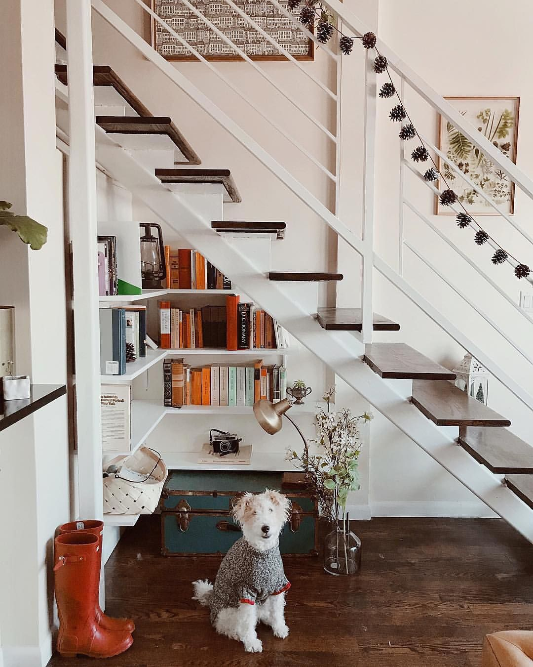 Stylish Understairs Study: Framebridge (@framebridge) On