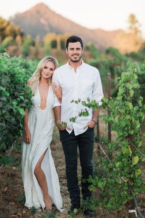 Lauren Bushnell And Ben Higgins Engagement Photos In The Jetset Diaries Monta Vista Maxi Dress
