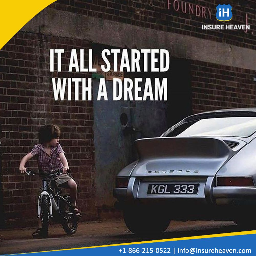 It all started with a dream mondaymotivation insurance