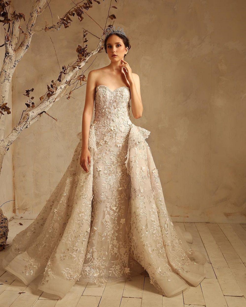 57 Stunning Wedding Dresses With Detachable Skirts Ball Gowns Wedding Ball Gown Wedding Dress Gowns