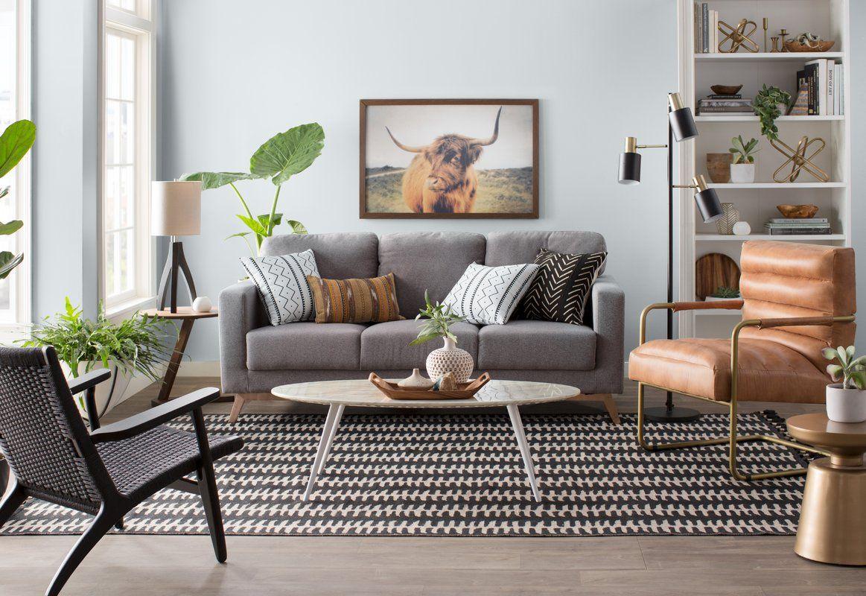 Airfoil Coffee Table Black Living Room Decor Living