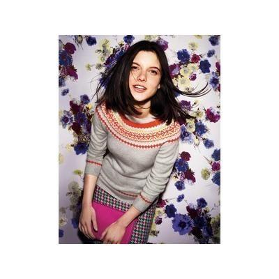 Boden Women's Fair Isle Yoke Sweater - Sulphur | Fashion Items I ...