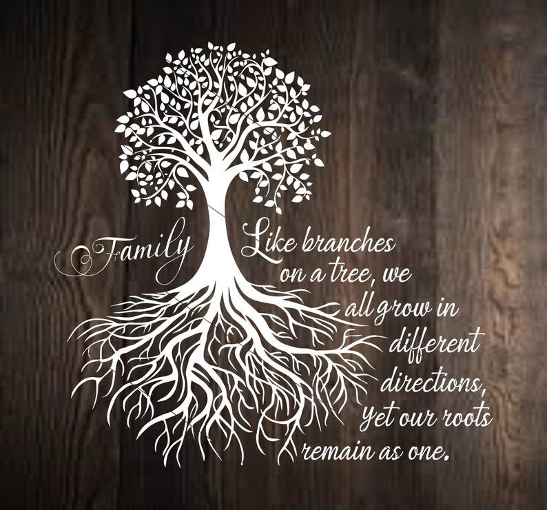 Family Tree Svg Png Dxf Our Roots SVG Family Tree Our