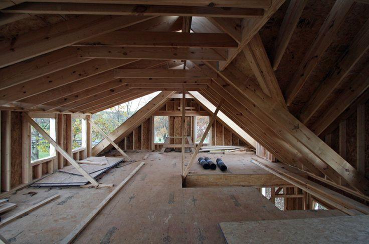 Attic Interior With Shed Dormer Google Search Attic Renovation Attic Loft Attic Rooms