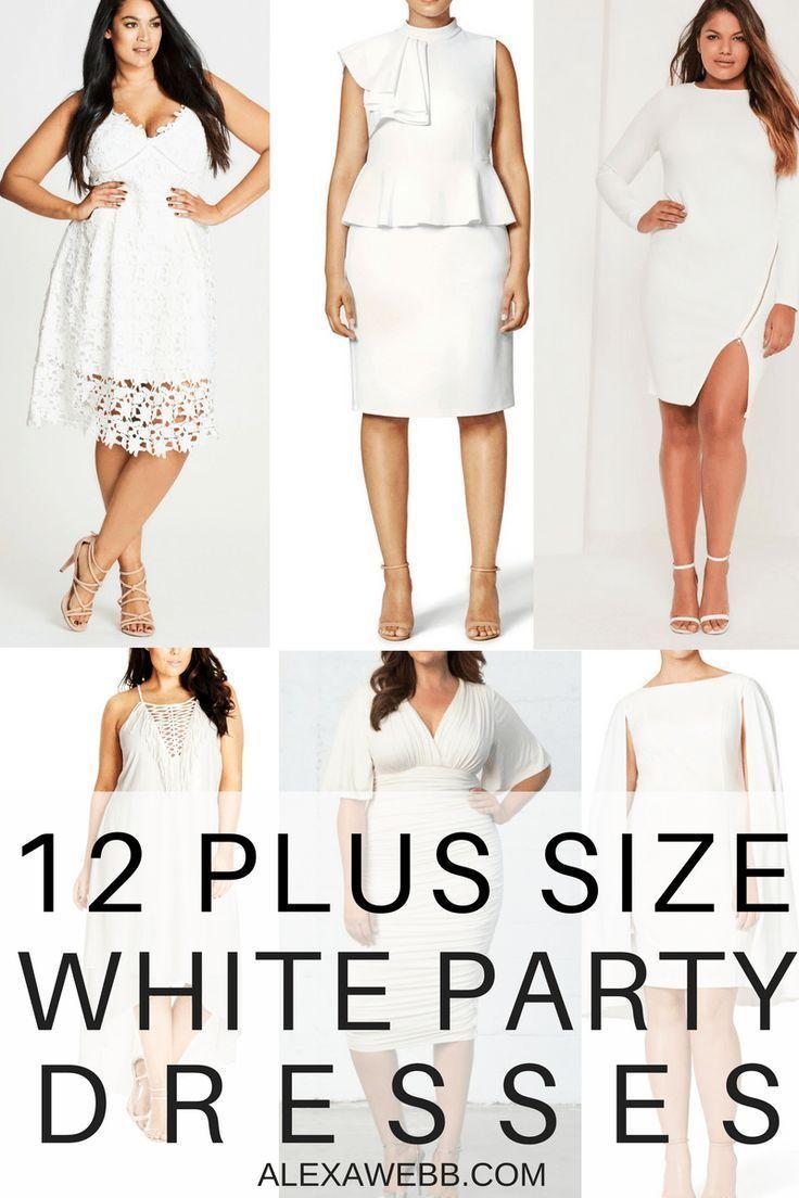 12 Plus Size White Party Dresses | Plus Size Fashion | White ...