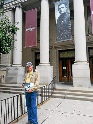 Pontiac author talk at Detroit library that banned Hemingway