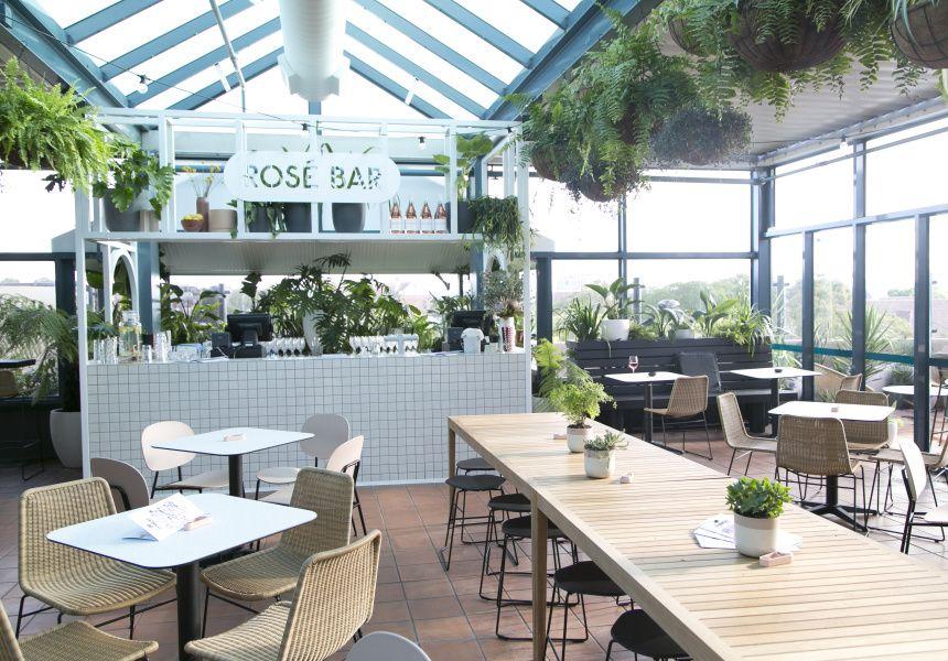 Now Open Mosman S Lush New Rooftop Restaurant And Bar Rooftop Restaurant Green Roof Green Roof Technology