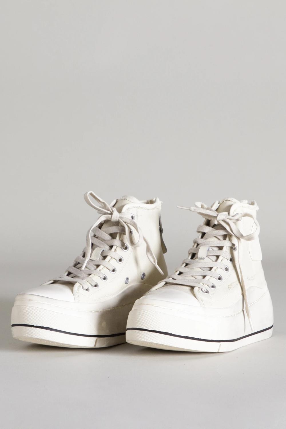 High Top Sneaker - Ecru in 2020   High