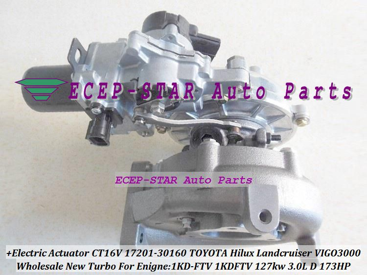 Free Ship Electric Actuator Ct16v 17201 30160 17201 30160