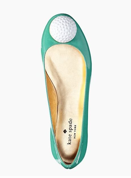 How cute are these  golf inspired Kate Spade flats! The ladies at the  country club will love these. f2c261892190