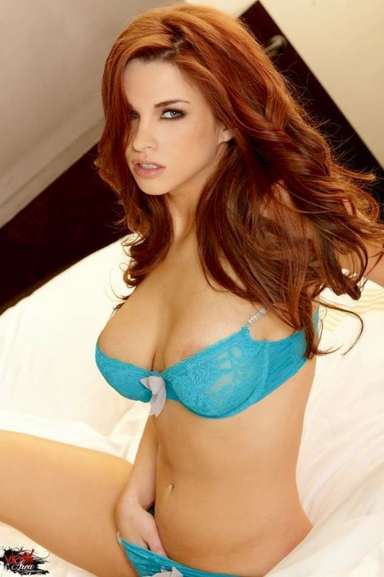 Redhead hot and sexy