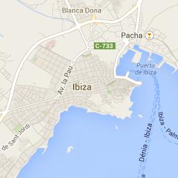 Ibiza holiday 2014 map Ibiza Pinterest Ibiza holidays Ibiza