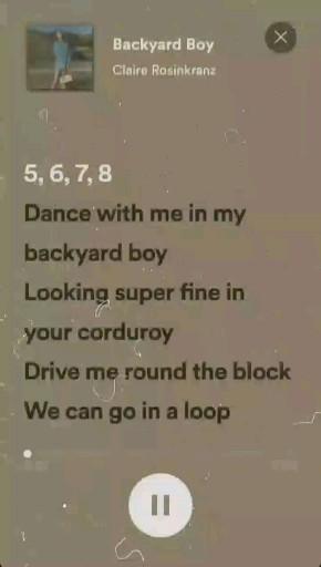 Video Song Backyard Boy Claire Rosinkranz Lagu Buku Lagu Lirik Lagu