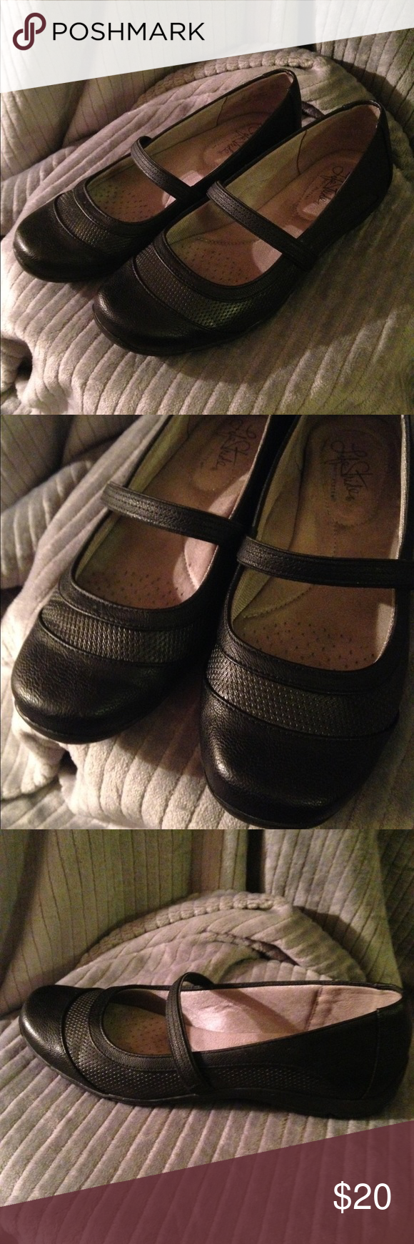 Comfort Shoes Beautiful Euc Women's Gap Comfort Shoes Mary Janes Flats Loafers Brown Size 7 100% High Quality Materials