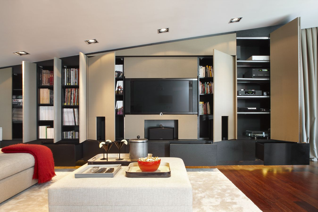 Molins interiors arquitectura interior interiorismo - Salon de estar decoracion ...
