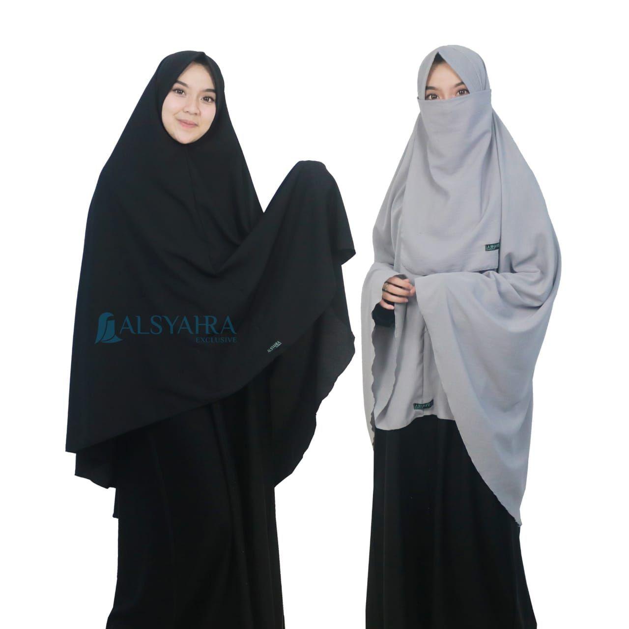 Pin Di Jilbab Niqab Khimar Kerudung Alsyahra