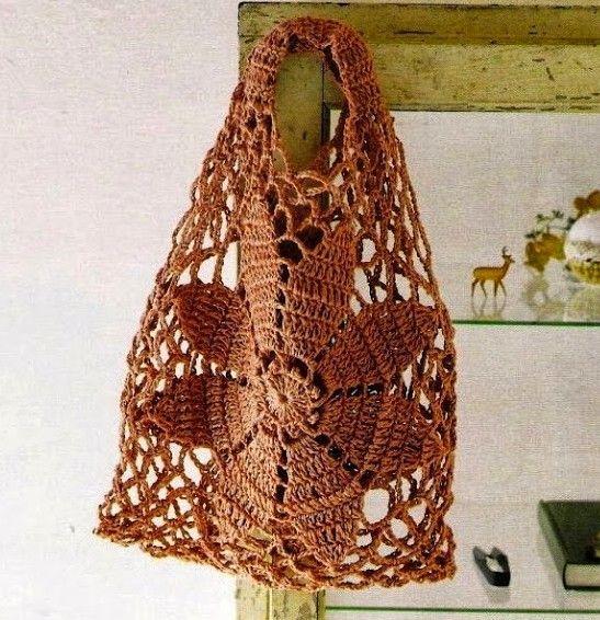 Tuto Crochet Sac Facile Tissé à Crochet Crochet Bolsos