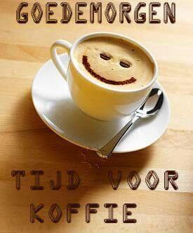 Afbeeldingsresultaat voor goedemorgen koffie