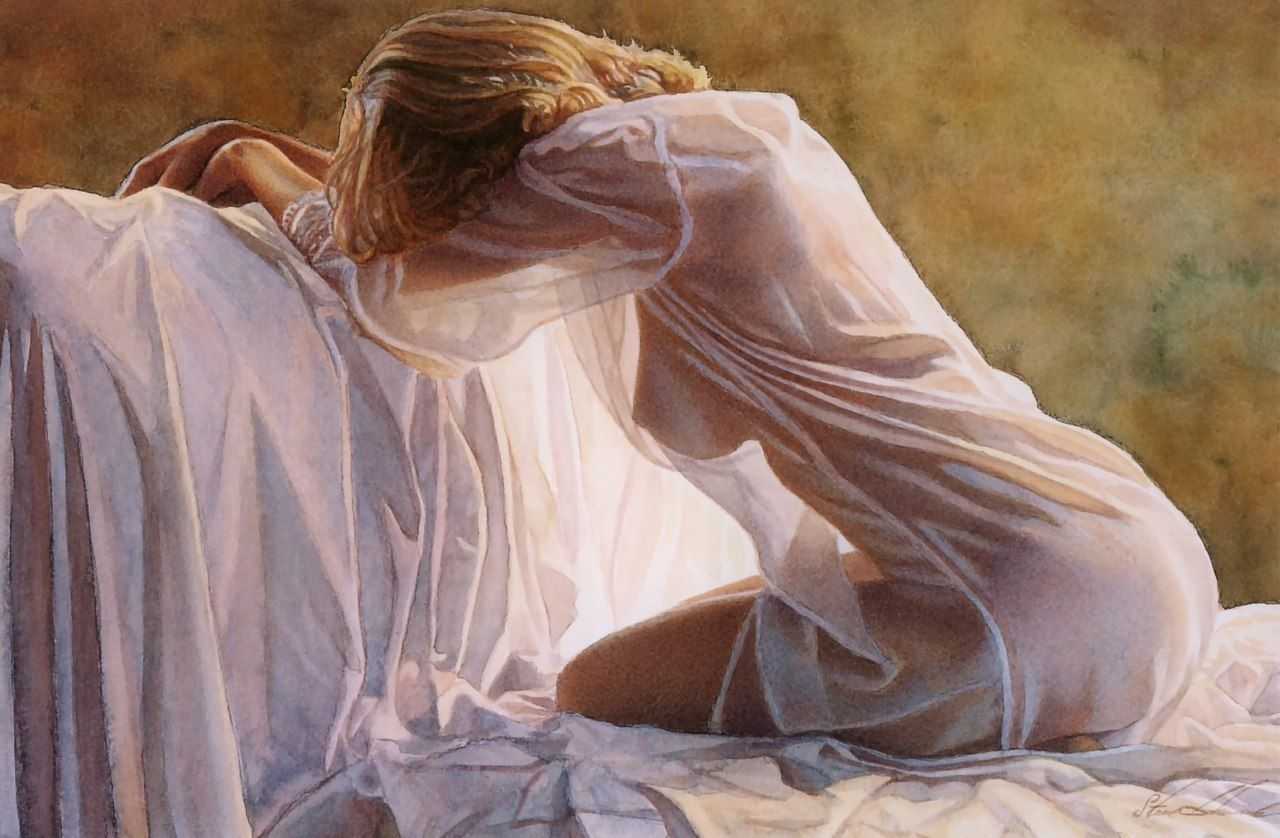 Steve Hanks: inspirational and romantic watercolors 58