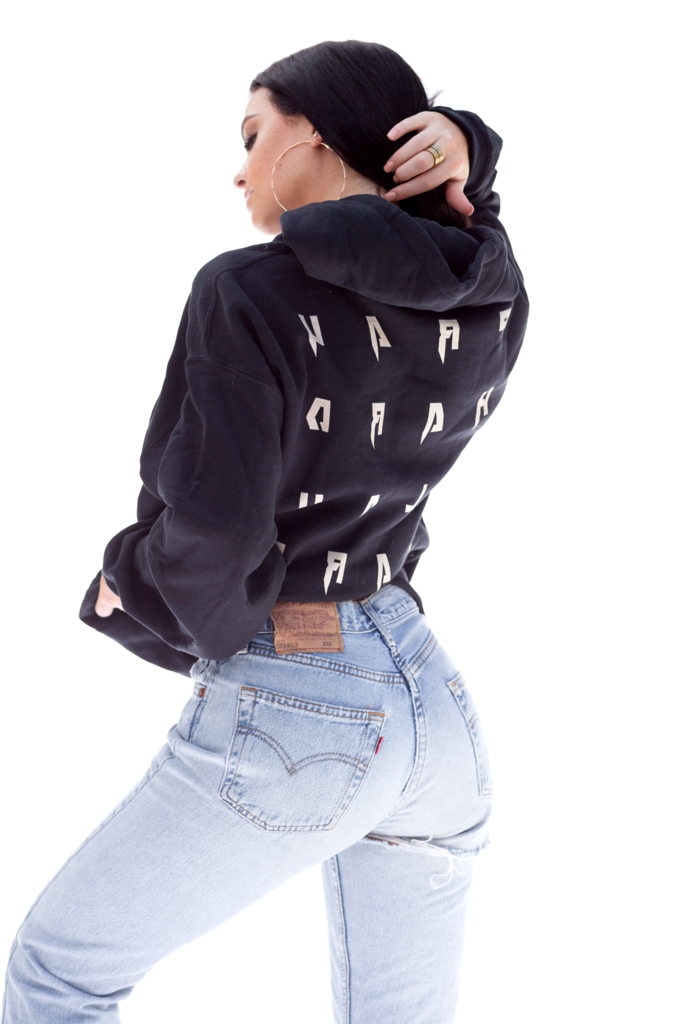PRAY HARD Black Hoodie Guys go check her out @Kelsey Simone on youtube!! <3 <3