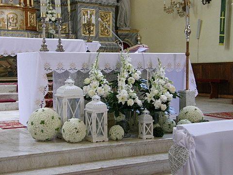 Dekoracje Wielkanocne Kościoła Wedding White Church