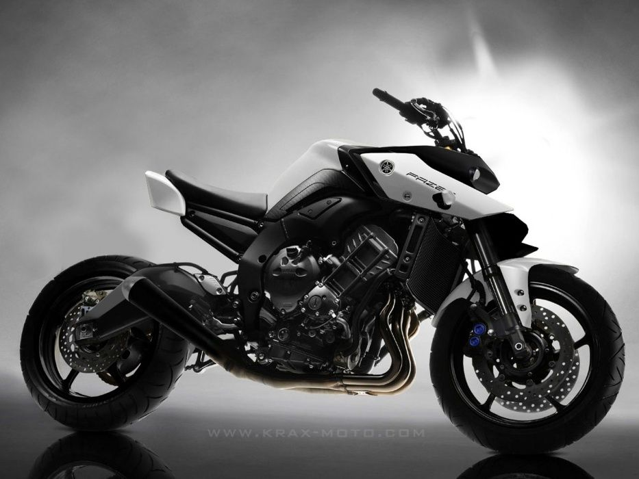 krax moto fz8 fazer concept cars motorcycles. Black Bedroom Furniture Sets. Home Design Ideas