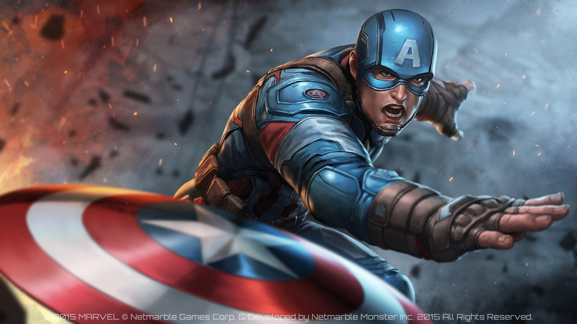 Captain America Civil War Jee Hyung Lee Marvel Future Fight