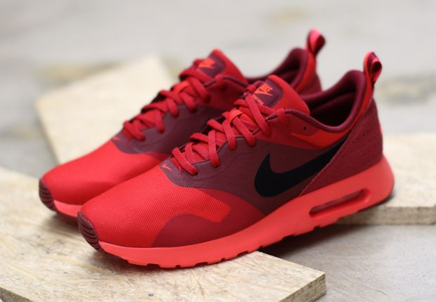 Air Max Tavas White Red