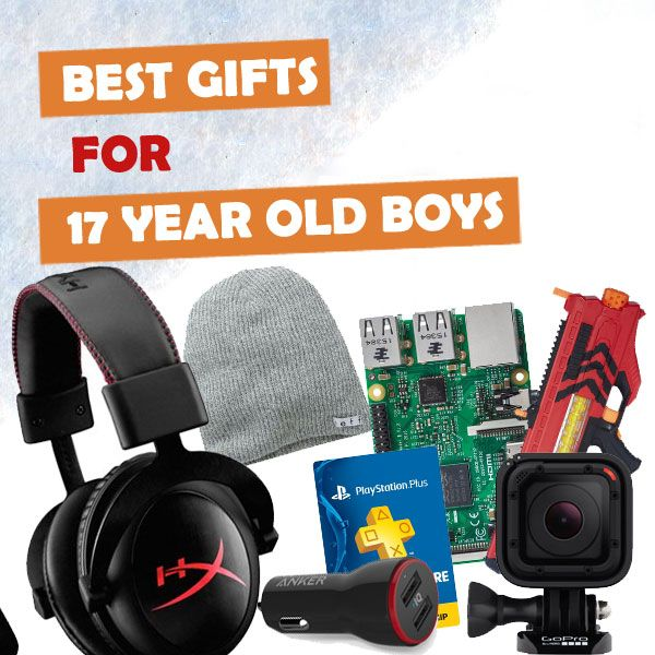 good christmas gifts for 17 year old boy