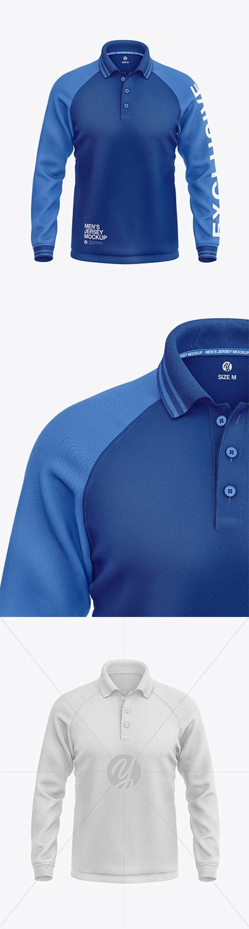 Download Pin By Sina Savad On Free Mockup Long Sleeve Polo Mens Long Sleeve Sleeves