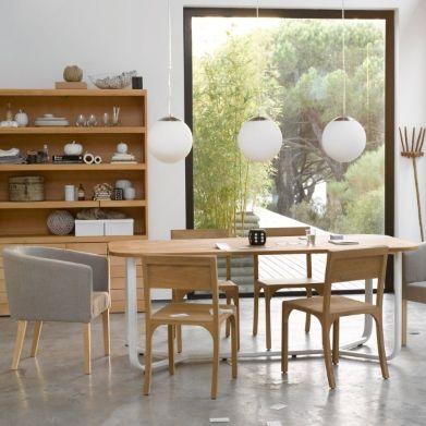 Grande Fenetre Fixe Pour Coin Dej Etagere Bois Mobilier De Salon Deco Maison