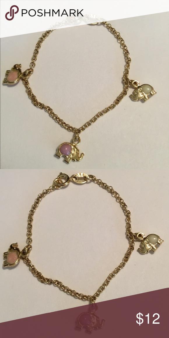 14k gold Wont Tarnish Steel material Jewelry bracelets and Bracelets